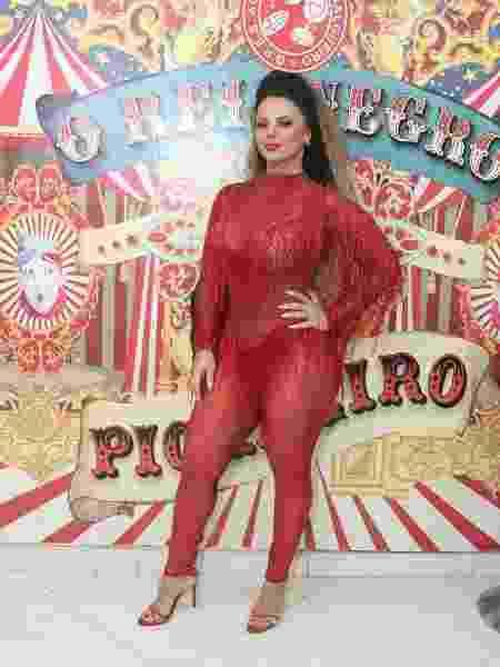 Viviane Araújo, do Salgueiro - Thyago Andrade/BrasilNews