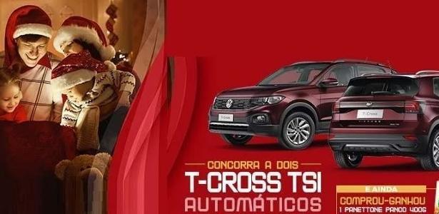 Veja lista de carros | T-Cross domina sorteio de Natal em shoppings de São Paulo