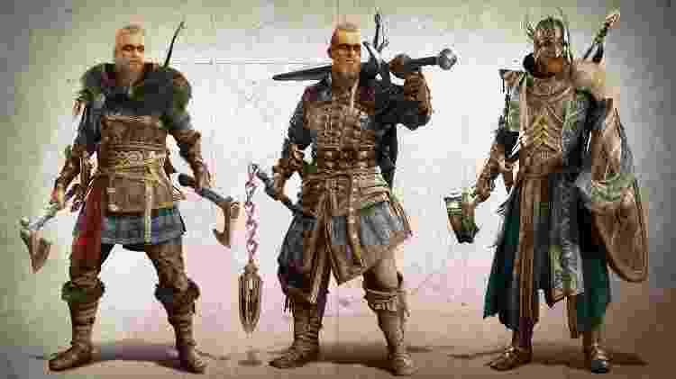 Assassin's Creed Valhalla personalização - Divulgação/Ubisoft - Divulgação/Ubisoft