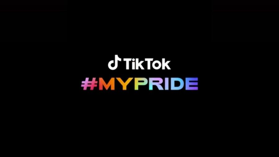 Logo do evento #MyPride, do TikTok, que foi invadido por ofensas homfóbicas e racistas - Reprodução