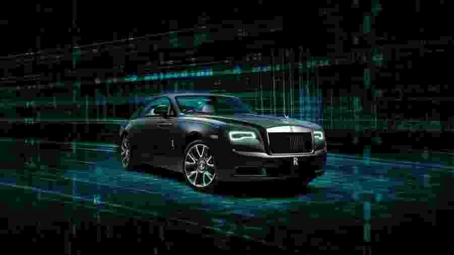 Rolls-Royce Wraith Kryptos Collection - Divulgação
