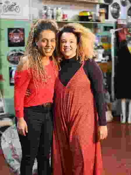 Juliana Vicente e Raquel Virgínia - Arquivo pessoal - Arquivo pessoal