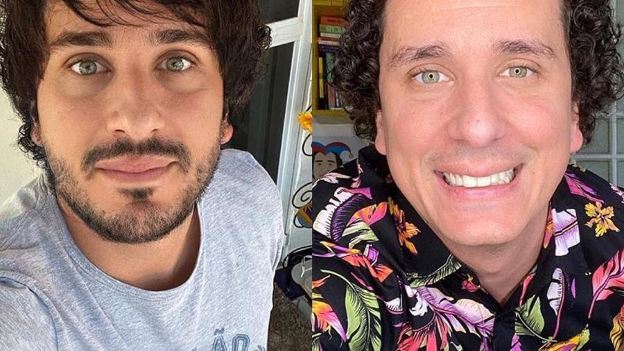 """Rafael Portugal viralizou com foto de """"transformação"""" nas redes sociais - Reprodução/Instagram"""