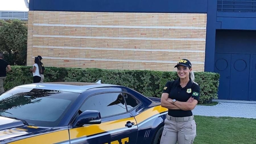 Silmara Miranda vira policial rodoviária  - Reprodução / Instagram