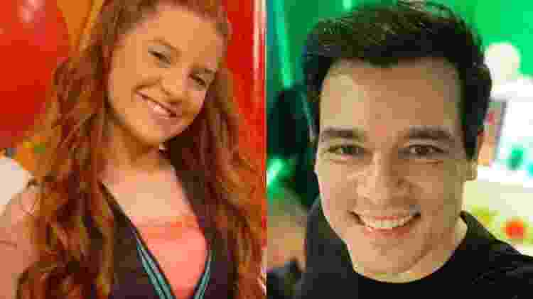 Jéssica Esteves e Celso Portiolli - Reprodução/Instagram - Reprodução/Instagram