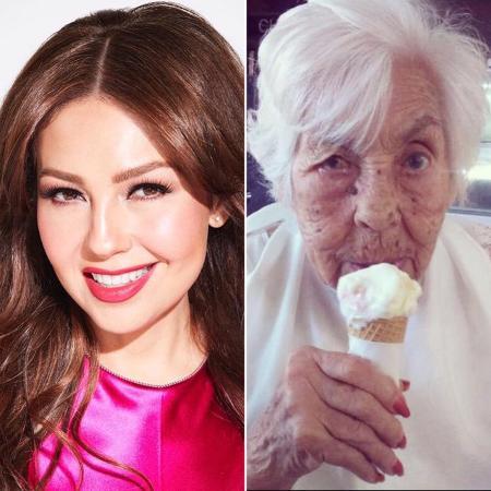 Thalia e avó - Reprodução/Instagram