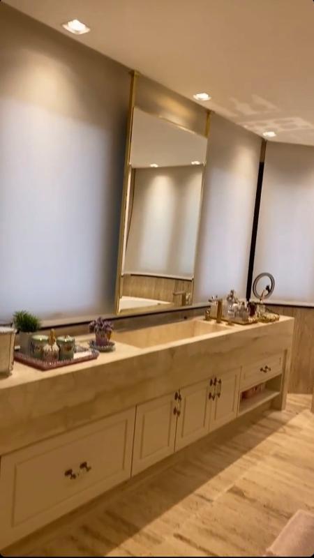 banheiro simone - Reprodução/Instagram - Reprodução/Instagram