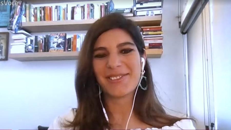 Andréia Sadi disse que queria ter sido jogadora de vôlei - Reprodução/TV Globo