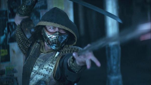 Scorpion (Hiroyuki Sanada) em trailer de 'Mortal Kombat'