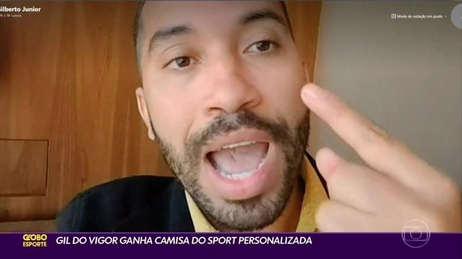 Gilberto Nogueira, ex-participante do BBB21 - Reprodução Globo