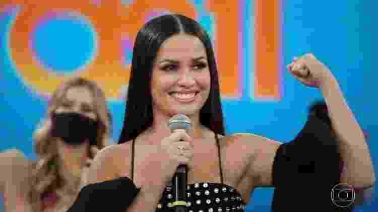Juliette, campeã do BBB21 - Reprodução/Tv Globo - Reprodução/Tv Globo