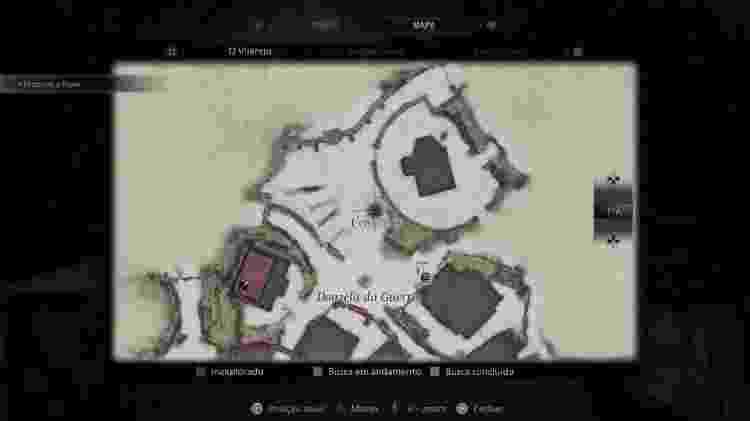 Resident Evil Village Mapa Cabra 1 - Reprodução/Capcom - Reprodução/Capcom