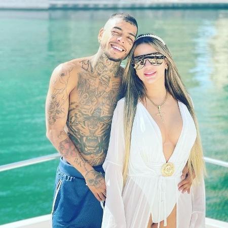 Deolane Bezerra e MC Kevin - Reprodução / Instagram