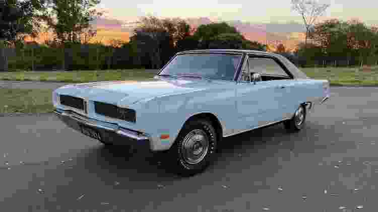 Dodge Charger LS 1974 branco ainda pode ser adquirido, com tiragem de mil exemplares - Arquivo pessoal - Arquivo pessoal