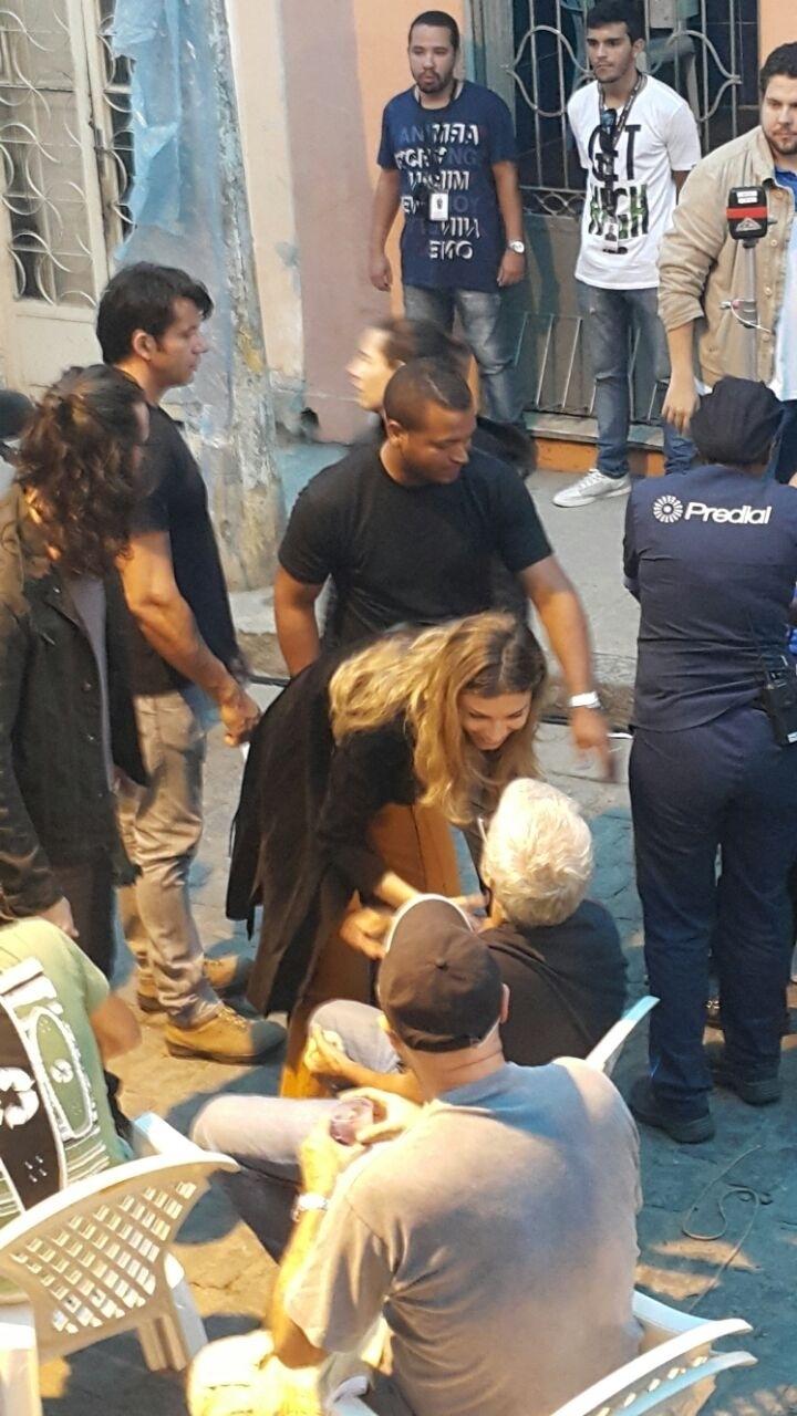 """28.jul.2015- Larissa, personagem de Grazi em """"Verdades"""" irá para uma clínica de reabilitação após ser presa na cracolândia"""