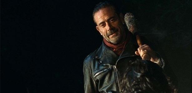 """""""The Walkind Dead"""" termina com a chegada de Negan, o vilão mais temido da série - Reprodução/AMC"""