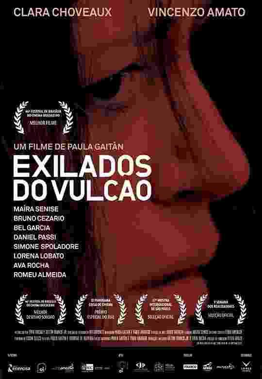 """Pôster do filme """"Exilados do Vulcão"""" - Divulgação"""
