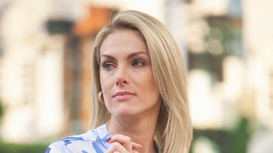 Ana Hickmann foi vítima de um atentado em hotel em Belo Horizonte - Edu Moraes / Record