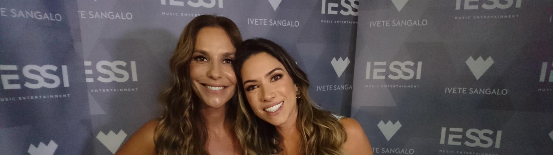 Ivete Sangalo e Patrícia Abravanel