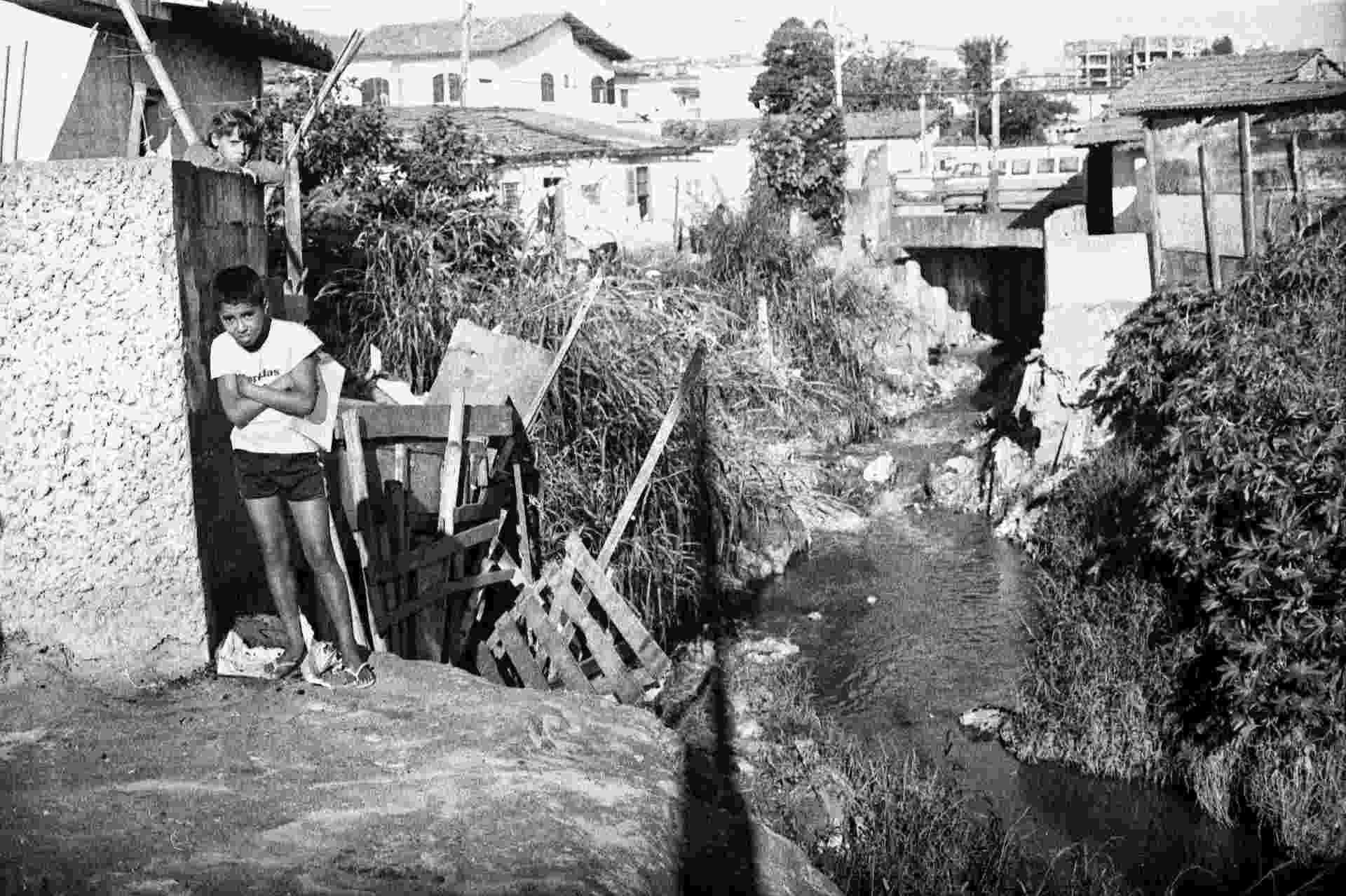 """Foto feita por David Zing em Americanópolis durante sua cobertura para o """"Notícias Populares"""", em 1986 - Divulgação / David Zingg"""