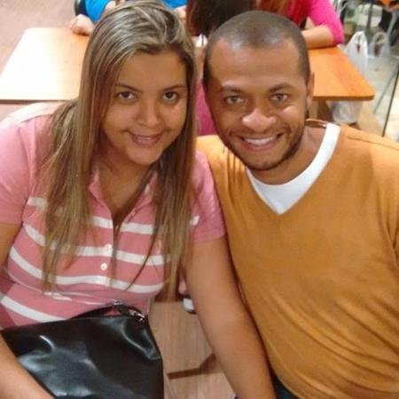 Tainá Ribeiro pediu e Leandro Nascimento topou que eles dividissem um único perfil no Facebook - Arquivo Pessoal