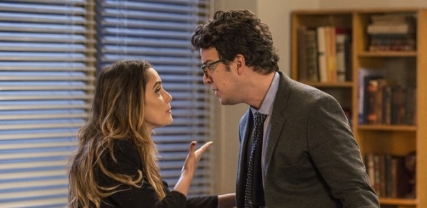 Bruna quer que Enéas seja falsa testemunha do assassinato de Camila - Reprodução/Haja Coração/Gshow