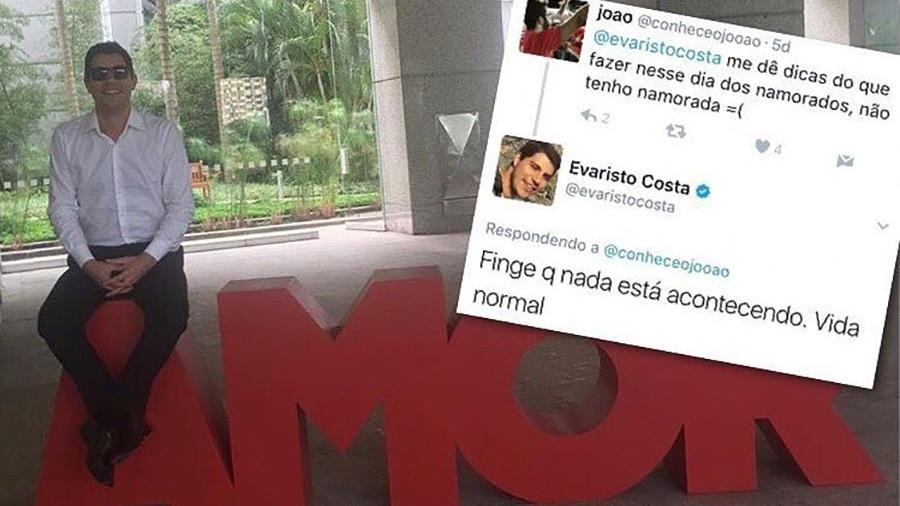 """Evaristo Costa costuma dar """"conselhos"""" em suas redes sociais - Reprodução/Instagram"""