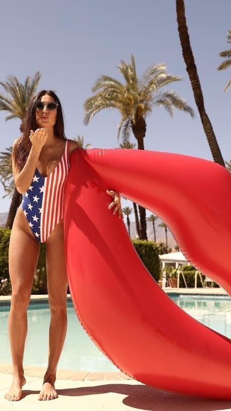 Thaila Ayala homenageia o Dia da Independência dos EUA - Reprodução/Instagram