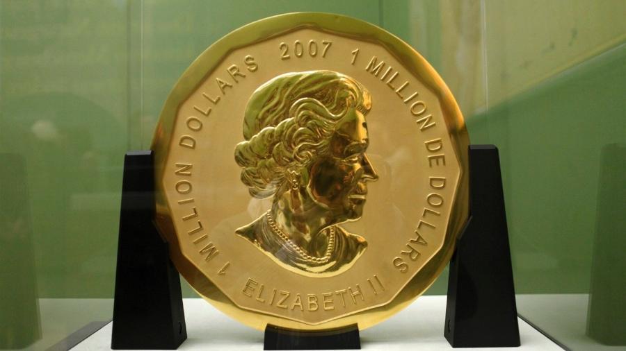 Moeda de ouro avaliada em US$ 4 milhões - Reprodução
