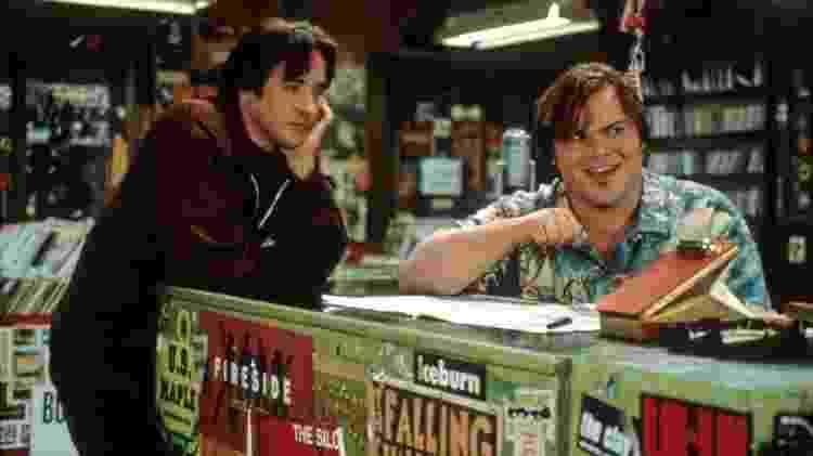 """John Cusack e Jack Black em cena de """"Alta Fidelidade"""" - Reprodução - Reprodução"""