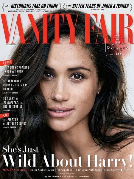 """Meghan Markle na capa da """"Vanity Fair"""" - Reprodução"""