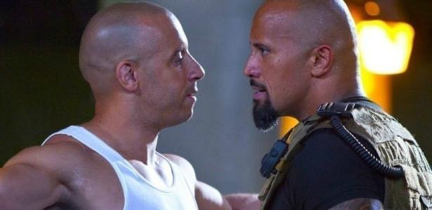 """Vin Diesel e The Rock em """"Velozes e Furiosos 8"""" (2017), o mais visto este ano na TV paga"""