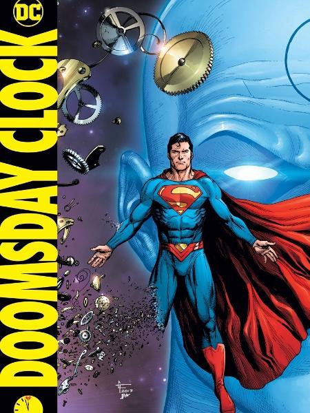 Uma das capas da sequência de Doomsday Clock - Reprodução