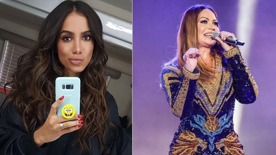 Anitta e Solange Almeida começaram 2018 com transformação nas madeixas - Reprodução/Instagram