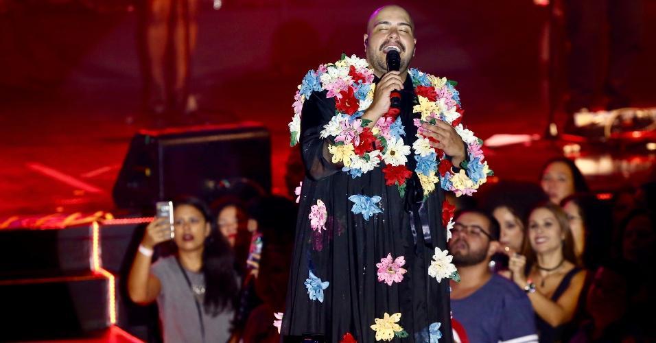 Tiago Abravanel faz show no Áudio Club no esquenta de Carnaval da Gambiarra