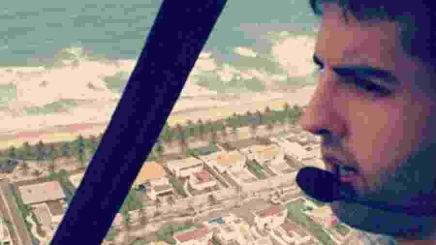 Daniel Galvão, piloto morto em acidente de helicóptero no Recife - Reprodução/Instagram