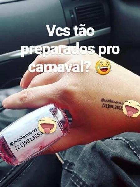 Carimbos são o novo truque para o amor de Carnaval não se perder no fim da festa - Acervo Pessoal