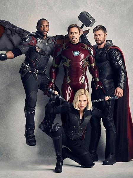 """Personagens de """"Vingadores: Guerra Infinita"""" (2018) - Divulgação"""