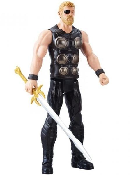 Boneco de Thor com espada de Heimdall - Marvel/Divulgação