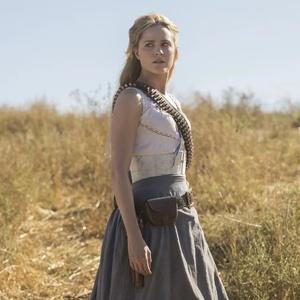 """Evan Rachel Wood, a Dolores de """"Westworld"""", em foto da segunda temporada"""