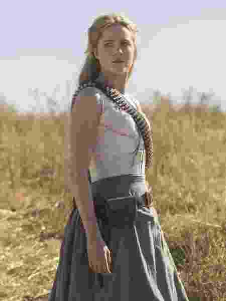 """Evan Rachel Wood, a Dolores de """"Westworld"""", em foto da segunda temporada - John P. Johnson/HBO"""