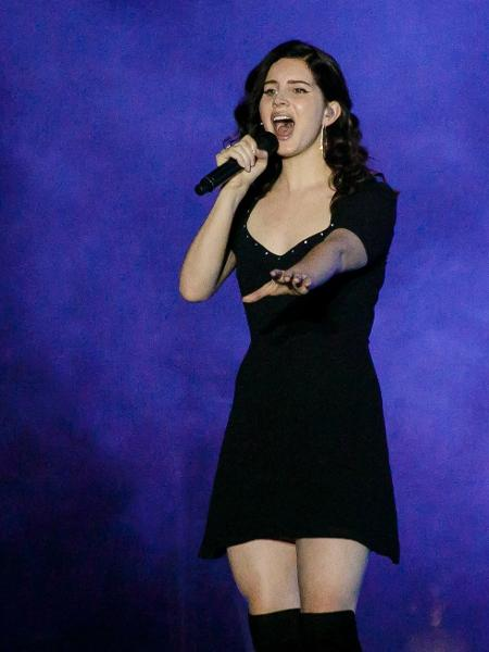 Lana Del Rey se apresenta no palco Onix do Lollapalooza - Mariana Pekin/UOL