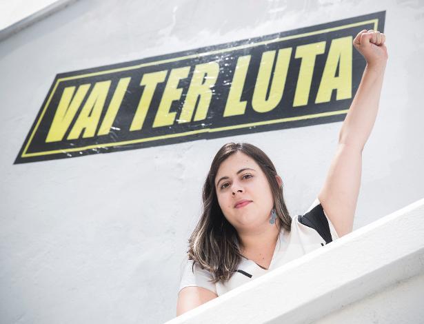 Retrato da deputada federal eleita por São Paulo Sâmia Bonfim (PSOL)