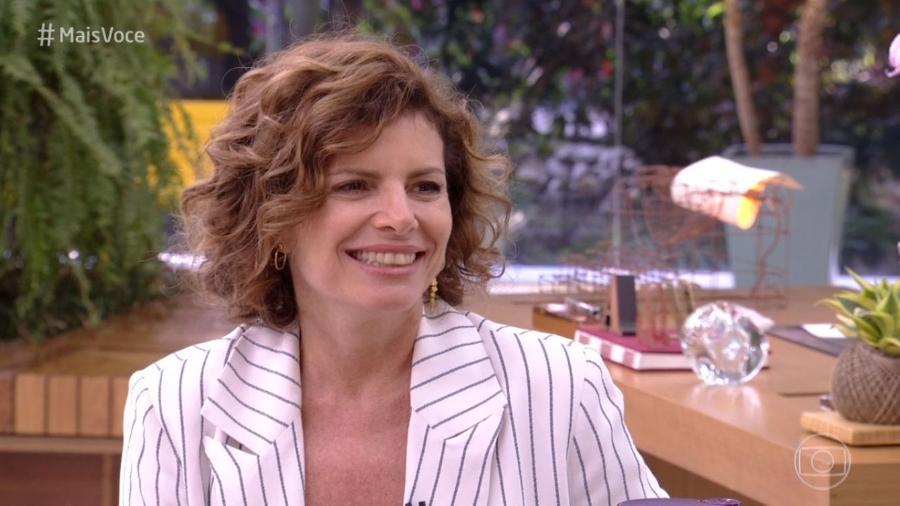 """Debora Bloch no """"Mais Você"""" - Reprodução/Globo"""