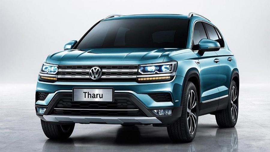 """Volkswagen Tarek, já revelado na China como """"Tharu"""": SUV chega em 2020 com missão de tirar o sossego do Jeep Compass - Divulgação"""