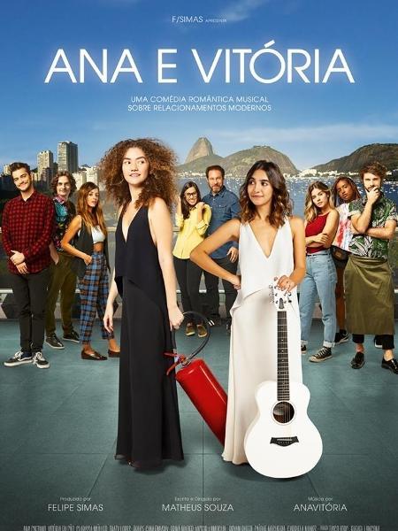 Filme com a dupla Anavitória chega aos cinemas no dia 2 de agosto - Reprodução