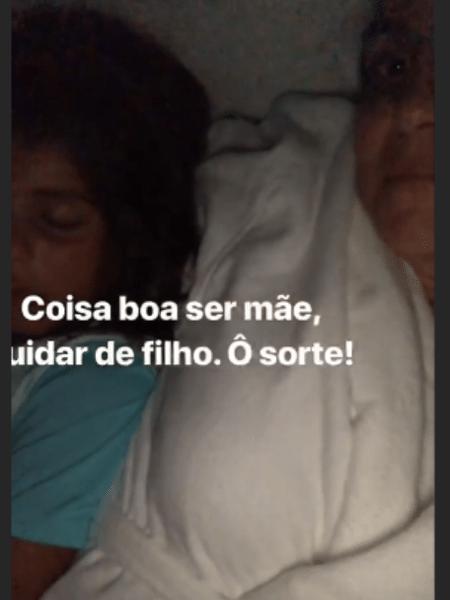 Ivete Sangalo com Marcelo, seu filho mais velho - Reprodução/Instagram