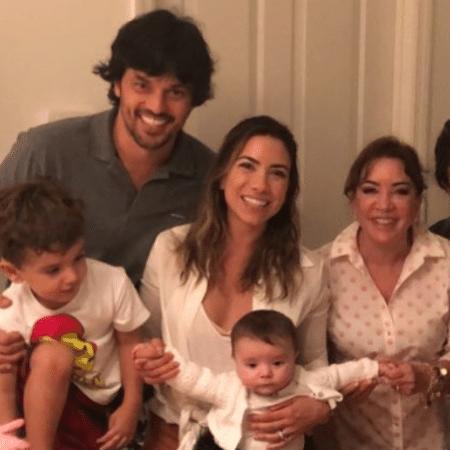 Em família, Patricia Abravanel parabeniza a mãe, Iris Abravanel - Reprodução/Instagram
