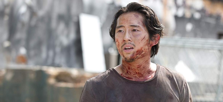 """Steven Yeun como Glenn em """"The Walking Dead"""" - Divulgação"""