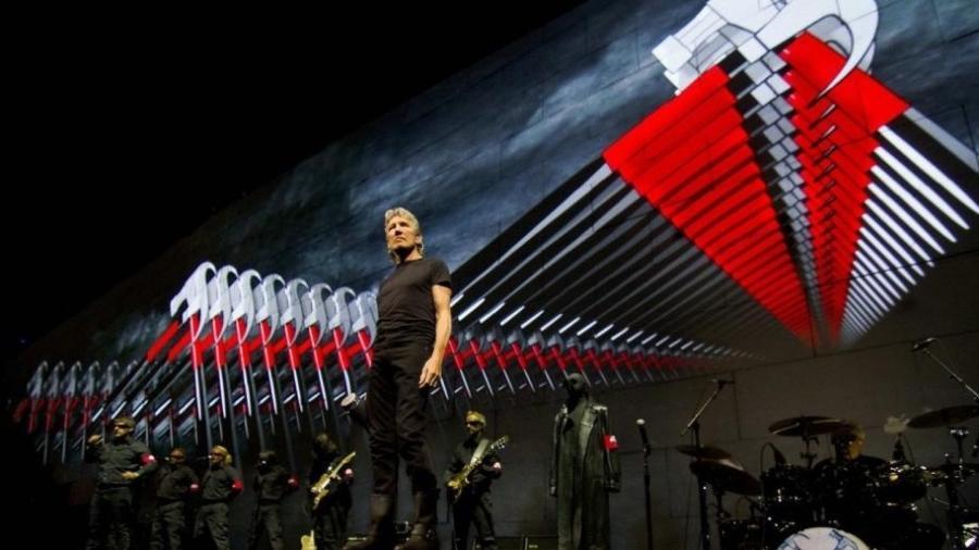 Roger Waters em show no Brasil - Reprodução